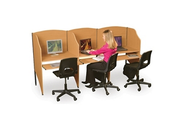 Complete Study Carrel Set, 60103