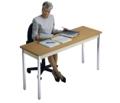 "Rectangular Utility Table - 60"" x 20"", 41002"
