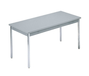 "Rectangular Utility Table - 72"" x 36"", 41005"