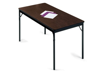 "Folding Utility Table 18"" Wide x 72"" Long, 46673"