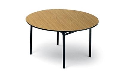 Folding Round Utility Table 60' Diameter, 46304