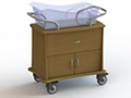 "One Drawer and Two Door Bassinet - 34""W, 26635"