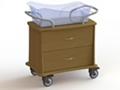 "Two Drawer Bassinet - 34""W, 26628"
