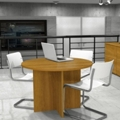 "Round Conference Table - 42"" Diameter, 40102"