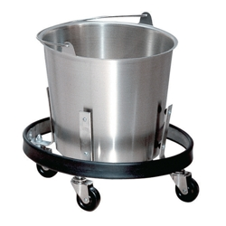 Stainless Steel Kick Bucket with Frame, 25539