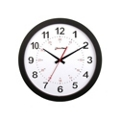 "Pluto 12"" Plastic Synchronized Clock with Master Clock Transmitter, 86426"