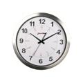 "Europa 12"" Aluminum Synchronized Clock with Master Clock Transmitter, 86430"