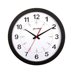 "Titan 15"" Plastic Synchronized Clock with Master Clock Transmitter, 86429"