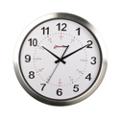 "Callisto 15"" Aluminum Synchronized Clock with Master Clock Transmitter, 86428"