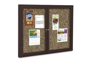 "48"" x 36"" Outdoor Rubber Bulletin Board, 80359"