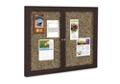 "48"" x 36"" Outdoor Rubber Bulletin Board, 80359"
