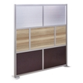 "At Work 72"" W x 78"" H Room Divider, 21428"