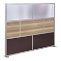 "At Work 96"" W x 78"" H Room Divider, 21429"