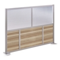 "At Work 73"" W x 53"" H Room Divider, 21427"