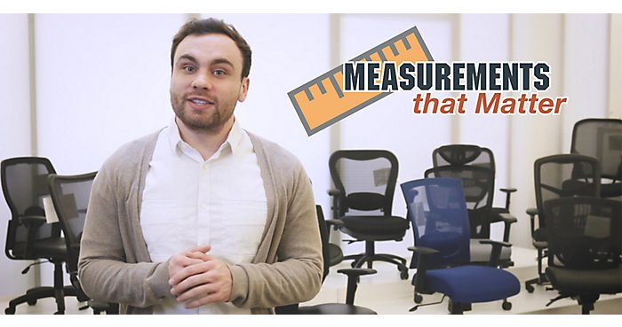 Measurements that Matter: Office Chairs | NBF.com
