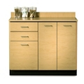 "Two Door Base Cabinet with Two Drawers - 42""W , 26017"