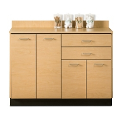 "Four Door Base Cabinet with Two Drawers - 48""W , 26018"
