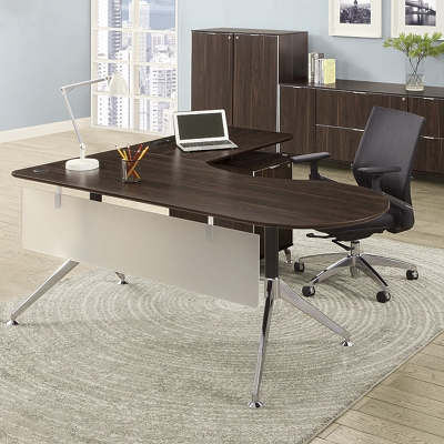 Office desk photo Woman Office Shaped Desks National Business Furniture Office Desks Your Style Size And Price Nbfcom