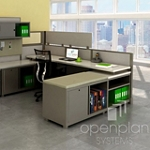 Open Plan Systems Lightning Cubicles