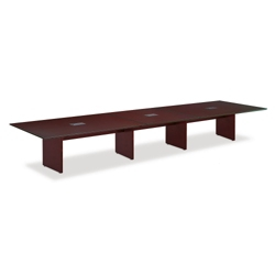 "Wood Veneer Conference Table - 192""W x 46""D, 44653"
