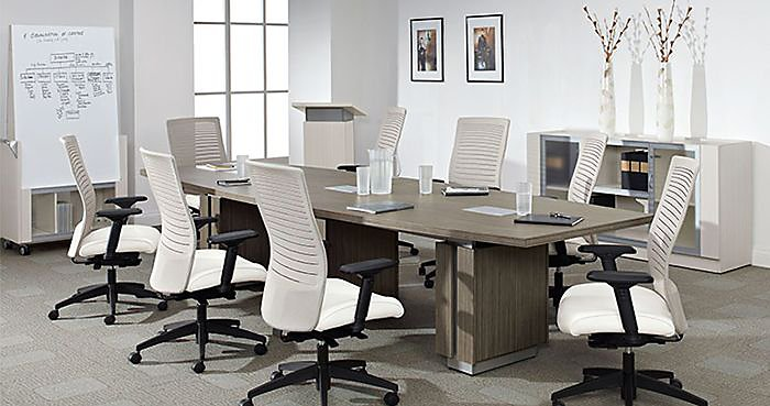 Conference Table Buying Guide NBF Blog - Gray conference table