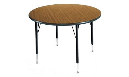 "Adjustable Height Round Table 60"" Diameter, 46319"