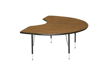 "Kidney Shape Activity Table 48"" x 72"", 46300"