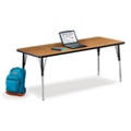"Adjustable Height Utility Table - 72"" W x 30"" D, 41597"