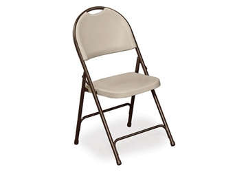 Multi-Use Plastic Folding Chair with metal Frame, 51563