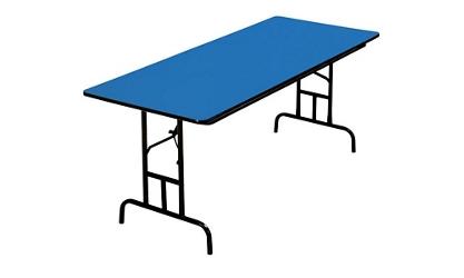 """T-Brace Folding Table 24"""" Wide x 60"""" Long, 46744"""