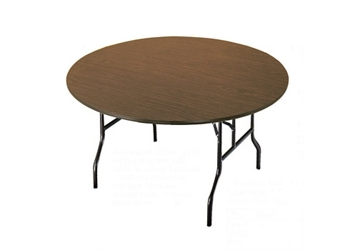 "Fixed Height Round Folding Table 48"" round, 46454"