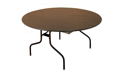 "Fixed Height Folding Table 60"" Round, 46468"