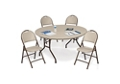 Lightweight Folding Table and Chair Set, 46461