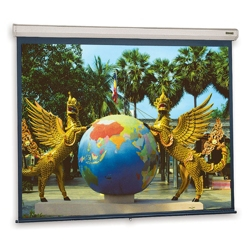 "72"" H x 72"" W Square Format Projection Screen, 43258"