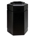 Hexagonal Waste Receptacle - 30 Gallon, 85870