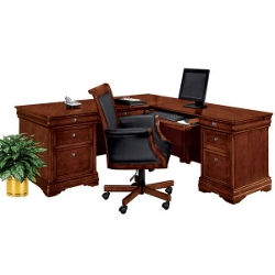 L-Desk with Right Return, 15150