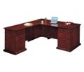 Executive L-Shape Desk with Left Return, 15417