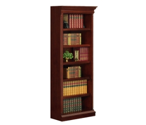 English Cherry Traditional Right Hand Bookcase, 32618