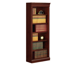 English Cherry Traditional Center Bookcase, 32619