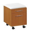 Cushion Top Mobile Pedestal, 36207-1