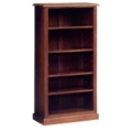 "Traditional Mahogany Bookcase - 60""H, 40427"