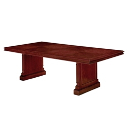 """English Cherry Traditional Rectangular Conference Table - 96"""" x  48"""", 40615"""