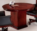 """42"""" Round Wood Table, 40709"""