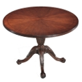 "Queen Anne 42"" Round Conference Table, 41414"