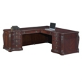 Old-World Left Return L-Desk, 30787