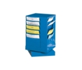 Literature Carousel with 20 Magazine Pockets, 33315