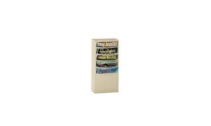 Steel Wall Literature Rack 5 Pocket, 33012