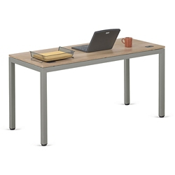 "At Work Table in Warm Ash - 72""W x 24""D, 13893"