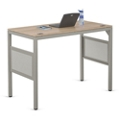 "At Work Standing Height Desk in Warm Ash - 60""W x 30""D, 13895"