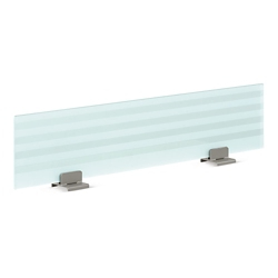 "72"" Wide Frosted Glass Privacy Panel, 21097"
